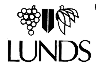 mark for LUNDS, trademark #76339587