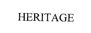 mark for HERITAGE, trademark #76341050