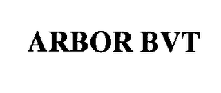 mark for ARBOR BVT, trademark #76341806