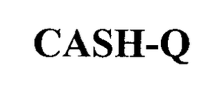 mark for CASH-Q, trademark #76342178