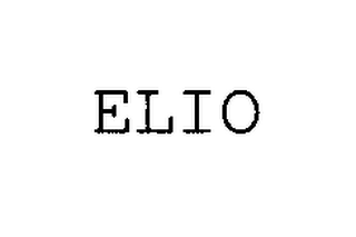 mark for ELIO, trademark #76342757