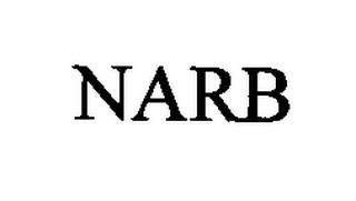 mark for NARB, trademark #76343846