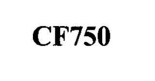 mark for CF750, trademark #76344296