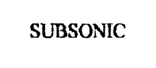 mark for SUBSONIC, trademark #76345601