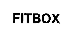 mark for FITBOX, trademark #76345923