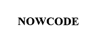 mark for NOWCODE, trademark #76346380