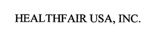 mark for HEALTHFAIR USA, INC., trademark #76346478