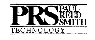 mark for PRS PAUL REED SMITH TECHNOLOGY, trademark #76347722