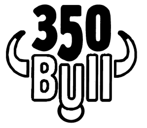 mark for 350 BULL, trademark #76349270