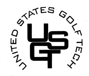 mark for UNITED STATES GOLF TECH USGT, trademark #76349448