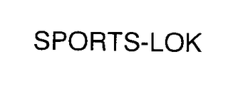 mark for SPORTS-LOK, trademark #76350050