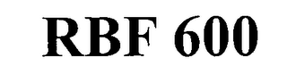 mark for RBF 600, trademark #76351746