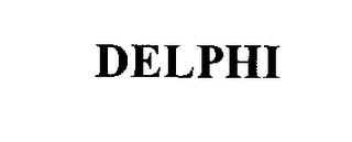 mark for DELPHI, trademark #76351850