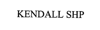 mark for KENDALL SHP, trademark #76353018