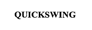 mark for QUICKSWING, trademark #76353067