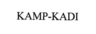 mark for KAMP-KADI, trademark #76353405