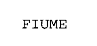 mark for FIUME, trademark #76354180