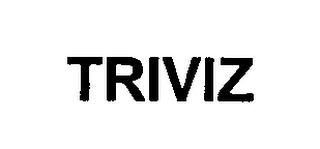 mark for TRIVIZ, trademark #76354801
