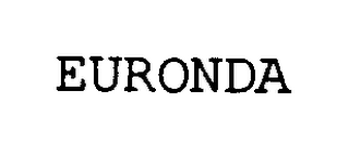 mark for EURONDA, trademark #76354930