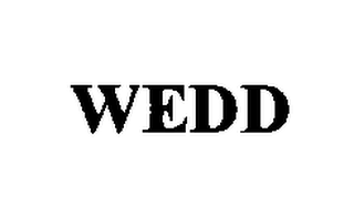 mark for WEDD, trademark #76355138