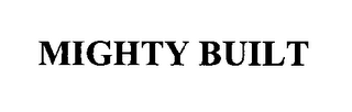 mark for MIGHTY BUILT, trademark #76355681