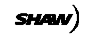mark for SHAW, trademark #76356709