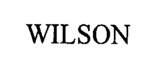 mark for WILSON, trademark #76357142