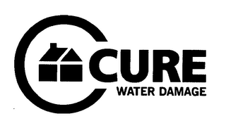 mark for C CURE WATER DAMAGE, trademark #76357845