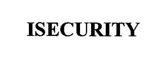 mark for ISECURITY, trademark #76357908