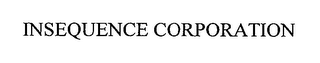 mark for INSEQUENCE CORPORATION, trademark #76358160