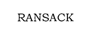 mark for RANSACK, trademark #76359093