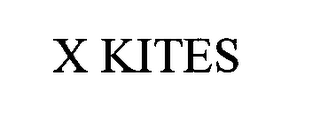 mark for X KITES, trademark #76360575