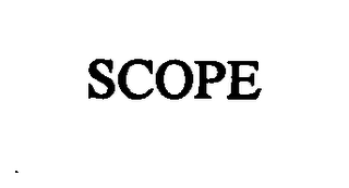 mark for SCOPE, trademark #76361358