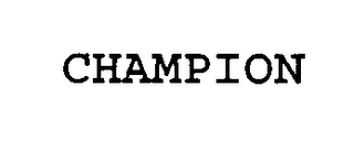 mark for CHAMPION, trademark #76361588