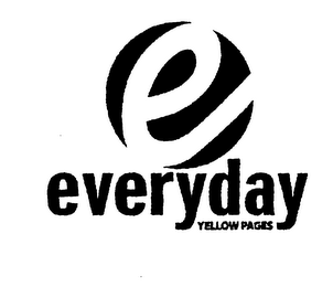 mark for E EVERYDAY YELLOW PAGES, trademark #76361730