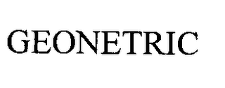 mark for GEONETRIC, trademark #76361974
