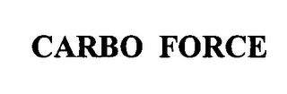 mark for CARBO FORCE, trademark #76363519
