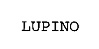 mark for LUPINO, trademark #76363803