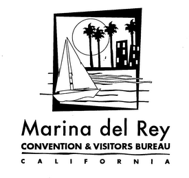 mark for MARINA DEL REY CONVENTION & VISITORS BUREAU CALIFORNIA, trademark #76364995
