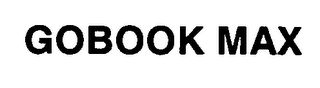 mark for GOBOOK MAX, trademark #76366012