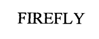 mark for FIREFLY, trademark #76366266