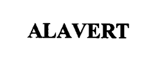 mark for ALAVERT, trademark #76367070