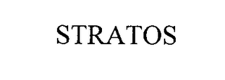 mark for STRATOS, trademark #76367786