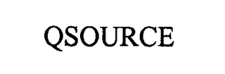 mark for QSOURCE, trademark #76368574