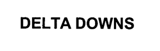 mark for DELTA DOWNS, trademark #76368581