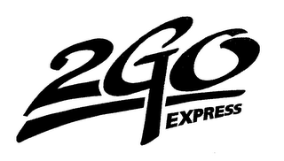 mark for 2 GO EXPRESS, trademark #76368721