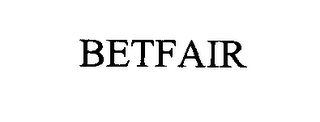 mark for BETFAIR, trademark #76368765
