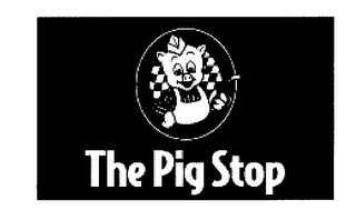 mark for THE PIG STOP, trademark #76370666
