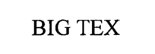 mark for BIG TEX, trademark #76371164