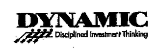 mark for DYNAMIC DISCIPLINED INVESTMENT THINKING, trademark #76371687